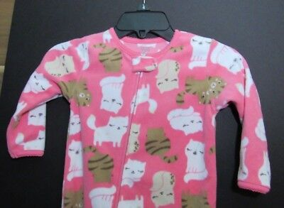 Carter/'s Just One You Girls Cat /& Mouse 4-Piece Pink Pajama Set