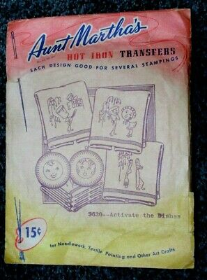 Antique/Vintage pattern for transferring embroidery patterns