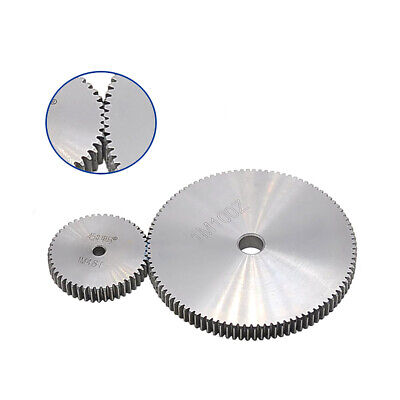 1 Mod Spur Gear 10T - 150T Tooth pitch 3.14mm 45# Steel Metal Gear for Motor