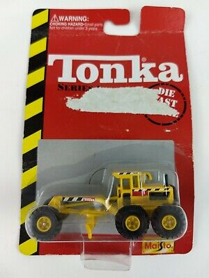 Tonka Road Grader Series 1 Diecast Maisto 1/64 Scale - IN THE PACKAGE