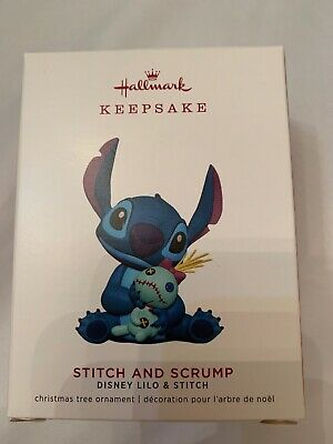 Hallmark 2019 Keepsake Ornament Disney Lilo Stitch & Scrump