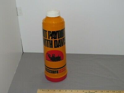 Vintage CASE & Davis Construction Trenchers Thermos advertising