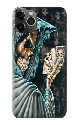 Grim Reaper With Scythe Skeleton Death Phone Case Fits