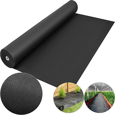 6x300ft weed control fabric landscape membrane ground cover driveway barrier
