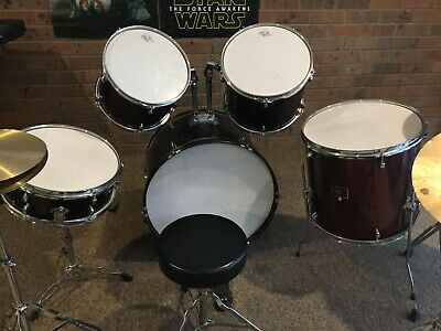 Drum Kit, Full size 8 Piece Golden Age.