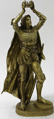 King Alfonso the Wise Greatest Royal Patrons Bronze Finish Classic Artwork SALE