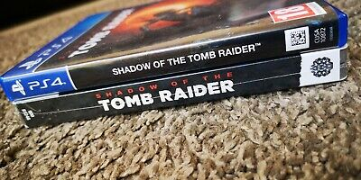 Shadow Of The Tomb Raider Limited Steelbook (new and sealed) Edition PS4 Game