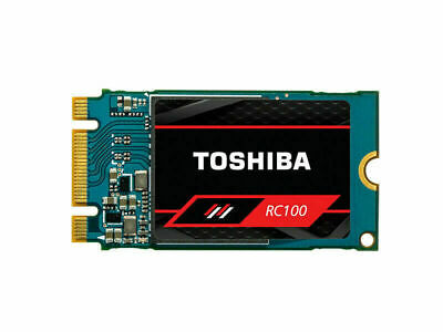 120GB Toshiba SSD RC100 PCIe 3 M.2 2242 Internal SSD M.2 NVMe Solid State Drive