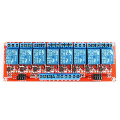 5/12/24V 8 Channel Relay Module Optocoupler Board Shield For PIC AVR ARM Arduino