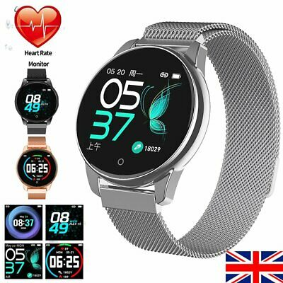 Smart Watch Bluetooth 4.0 Heart Rate Monitor Step Counter Tracker Pedometer New