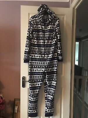 Girl's Christmas One Piece Pyjamas Sleep suit From New Look Age 15