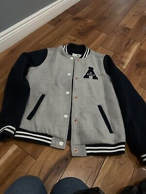 Abercrombie and Fitch  Grey And Black Jacket Aged 13-14