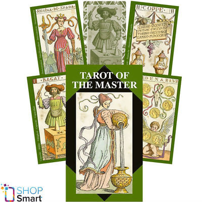 Tarot Of The Master Deck Cards Gaudenzi Esoteric Fortune Telling Lo Scarabeo New
