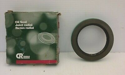 "CR CHICAGO RAWHIDE OIL SEAL 3//8/"" ID X 3//4/"" OD X 1//4/"" WIDE HIGH HEAT VITON LIP"