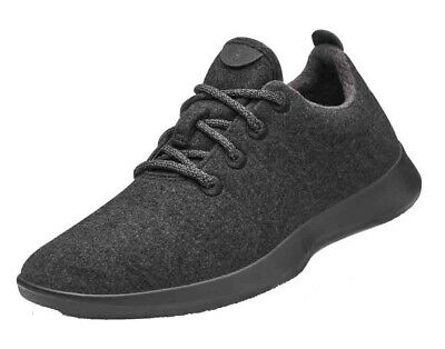 Allbirds Men's Wool Runners Natural Black Comfort Shoes NW/OB