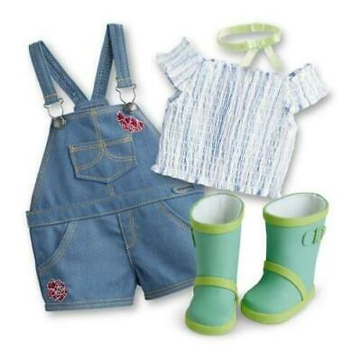 American Girl  Blaire Gardening Outfit, New in Box, In Stock