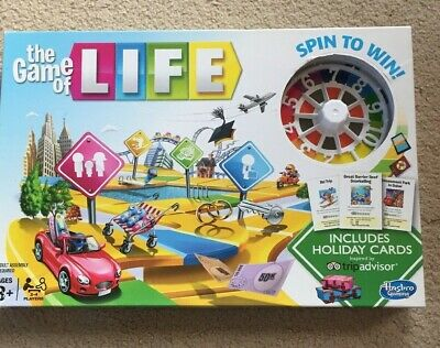 Hasbro The Game of Life Board Game Family Fun Christmas Gift New Other