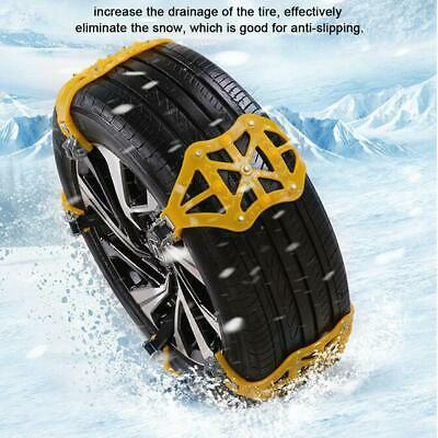Car Wheel Tire Snow Chain Tendon Thickened Vehicle Tyre Anti-skid Belt Band