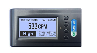 GQ GMC-510 Geiger Counter With WiFi,GPS,GPRS