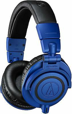 Audio-Technica ATH-M50xBB Monitor Headphones Studio Professional Blue Black