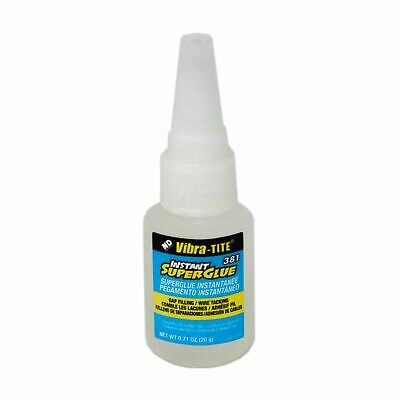 EXPIRED Vibra-Tite - 381 Gap Filling - Wire Tacking Cyanoacrylate, 20gm