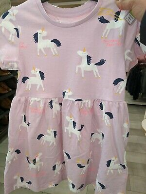BNWT Girls Marks And Spencer Unicorn dress age 5-6 Years. Next day post