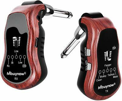 Mbuynow Wireless Guitar System Transmitter Receiver Set for Electric Guitar Bass