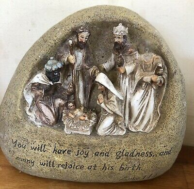 Latex Mould for making this Lovely Nativity Stone