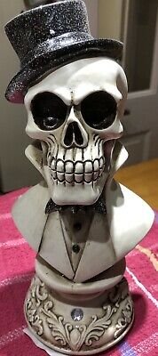 Latex Mould for making This Lovely spooky Skull Style Bust