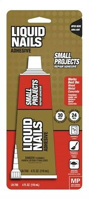 Liquid Nails  Small Projects  High Strength  Latex  Adhesive  4 Oz. Pack Of 6