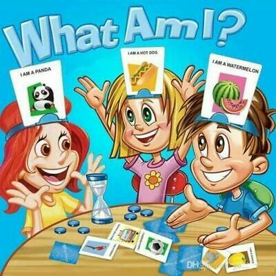 TradeXone Traditional Kids What Am I ? Fun Card Game With Headbands Xmax Party F