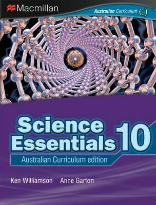 NEW Science Essentials 10 By Ken Williamson Paperback Free Shipping