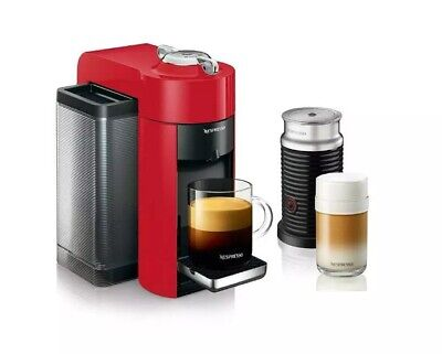 Nespresso Vertuo Evoluo Coffee Maker and Espresso Machine w/ Aeroccino Graphite