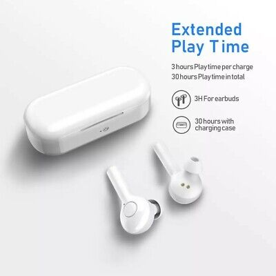 White FreeBuds Lite True Wireless Bluetooth 5.0 Stereo Earbuds for Huawei Apple