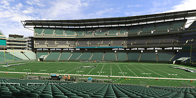 """Eagles vs Giants 12/9/19 """"GREAT SEATS"""" 4 Tickets Sect 102, Row 28, Seats 1 - 4"""