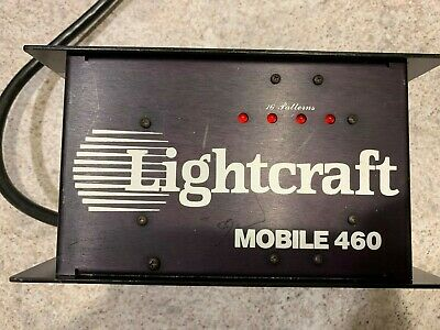 Lightcraft Mobile 460 Used in good working condition DJ Light CHASER Display