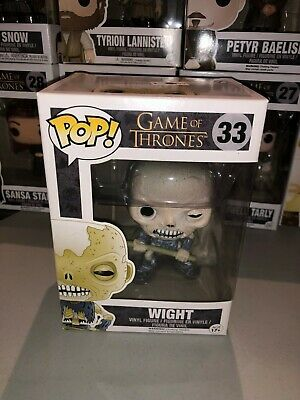 WIGHT  #33 funko pop - game of thrones