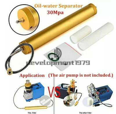 30Mpa High Pressure Air Filter 4500PSI Water-Oil Separator PCP Compressor Diving