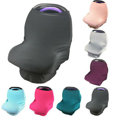 Materity Top Stretchy Nursing Scarf Baby Carseat Stroller Cover Canopy Accessory