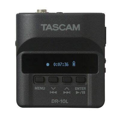 Tascam DR-10L Ultra-Compact Linear PCM Recorder w/ Lavalier Microphone (B-STOCK)