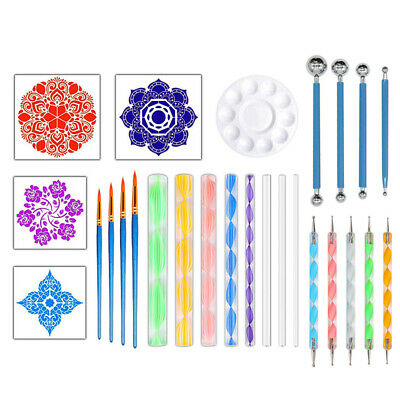 Ball Stylus Dotting Tool for Rock Painting Clay Pottery Modeling Design