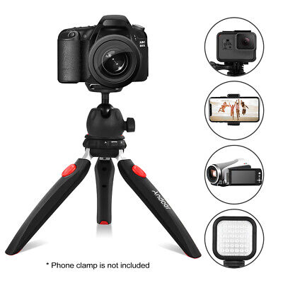 Mini Tabletop Tripod Phone Camera Tripod Ball Head For DSLR DV Video Light F9P3