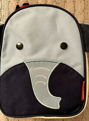 Skip Hop Zoo Lunchie Insulated Lunch Bag Elephant. VCG