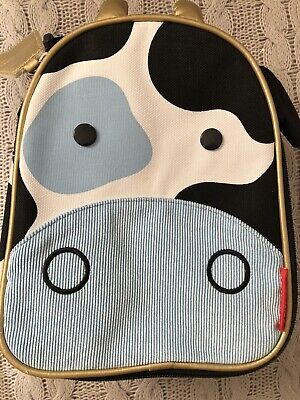 Skip Hop Zoo Lunchies ~ Insulated Lunch Bag ~ Cow
