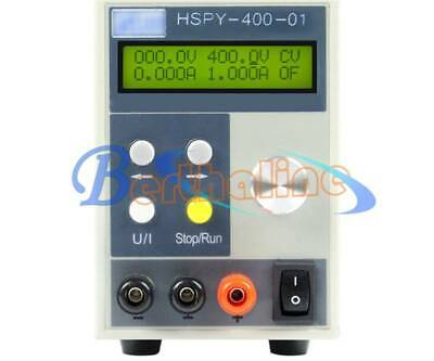 HSPY 400-01 Adjustable 400V//1A programmable DC Power Supply 220V RS232 Port