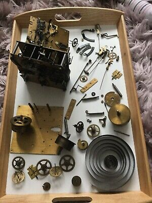 Old English West Minster Chime Clock Part Spars And Repairs