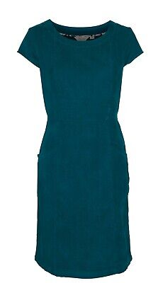 Lily & Me Short Sleeve Cord Dress - Spruce Green - Size 8, 12, 14, 16 & 18
