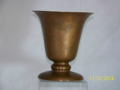 Dirk Van Erp Mission Arts & Crafts Hand Made Copper Chalice Vase