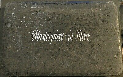 1989 Masterpieces In Silver Case And Silver Numbered Ingot