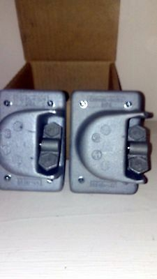 Lot Of 2 Crouse-Hinds Ds181 Cover
